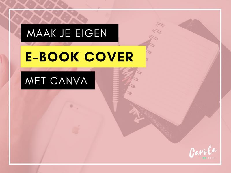 Canva E-book Cover Nederlands